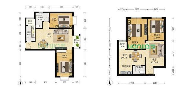 在西安买房购房户型如何选择|西安买房插图(4)