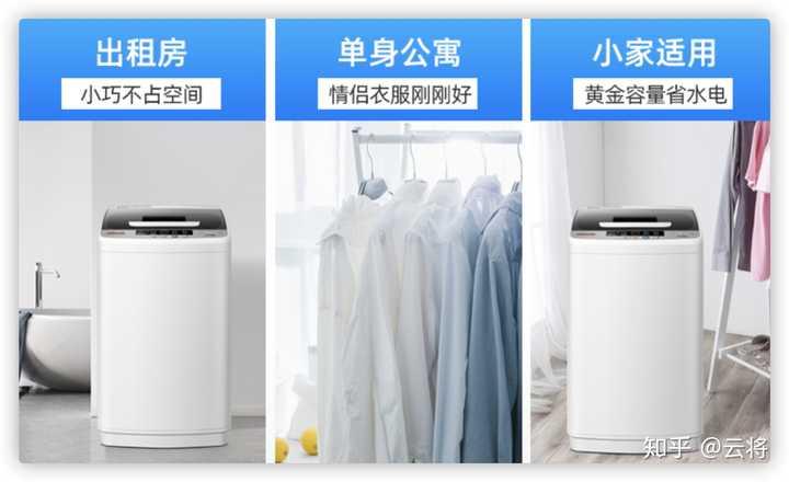 有哪些适合宿舍学生党买的洗衣机?