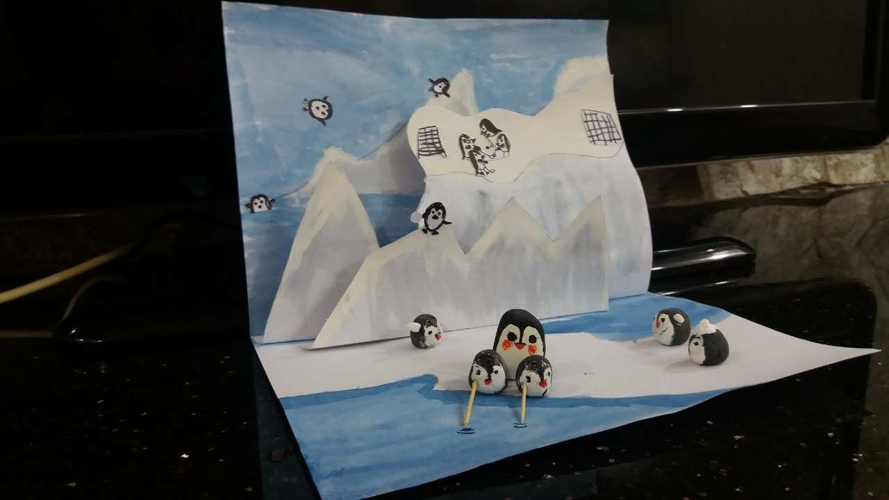 下面这个是立体创意绘本,我家孩子超级喜欢.哈哈.