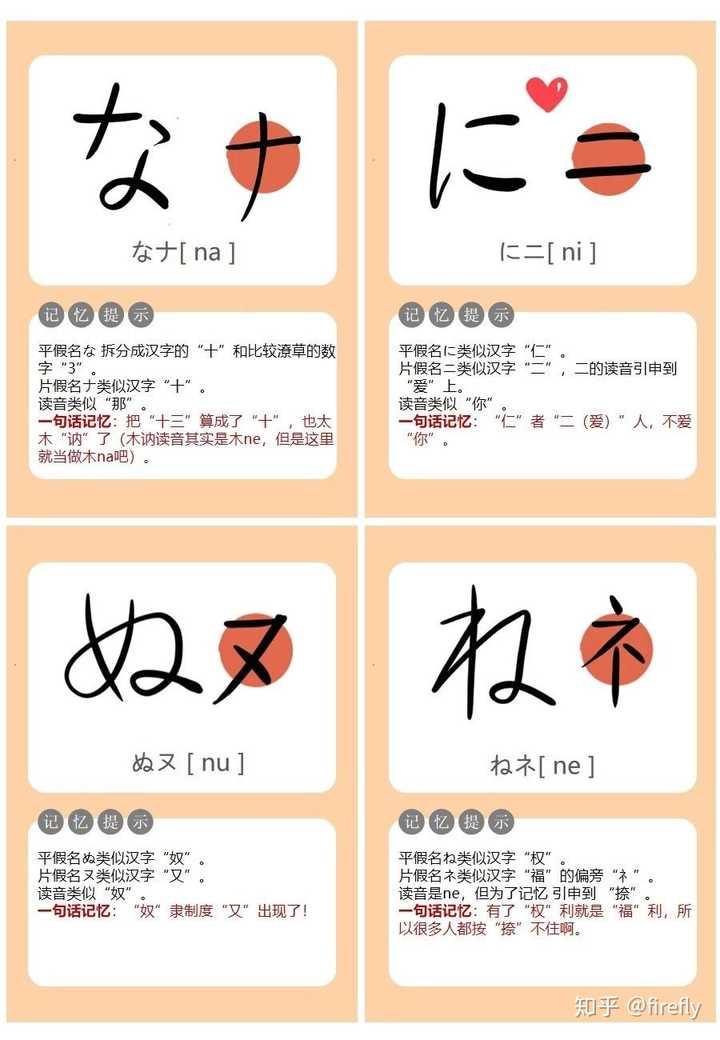 怎么记住五十音图的?详细的日语五十音图学习教程插图(15)