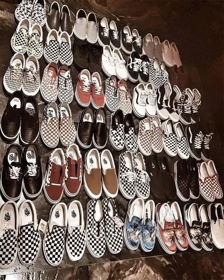 为什么很多人都表示穿鞋只穿vans?