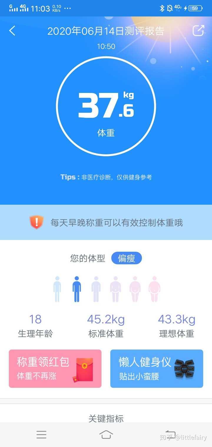 生理 中 体重