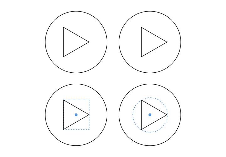 Design Principle #0 物理中心和视觉中心