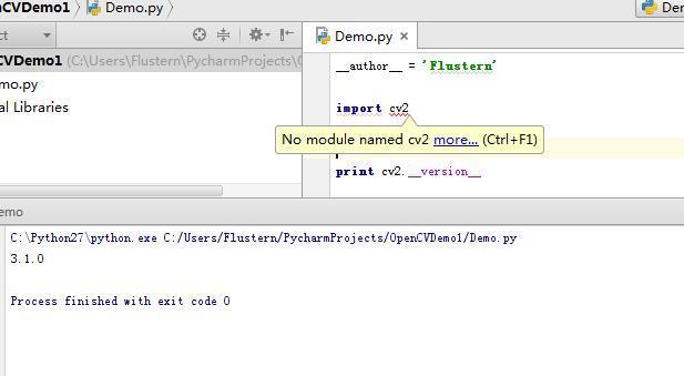 pycharm出现no module named cv2怎么解决? - 知乎