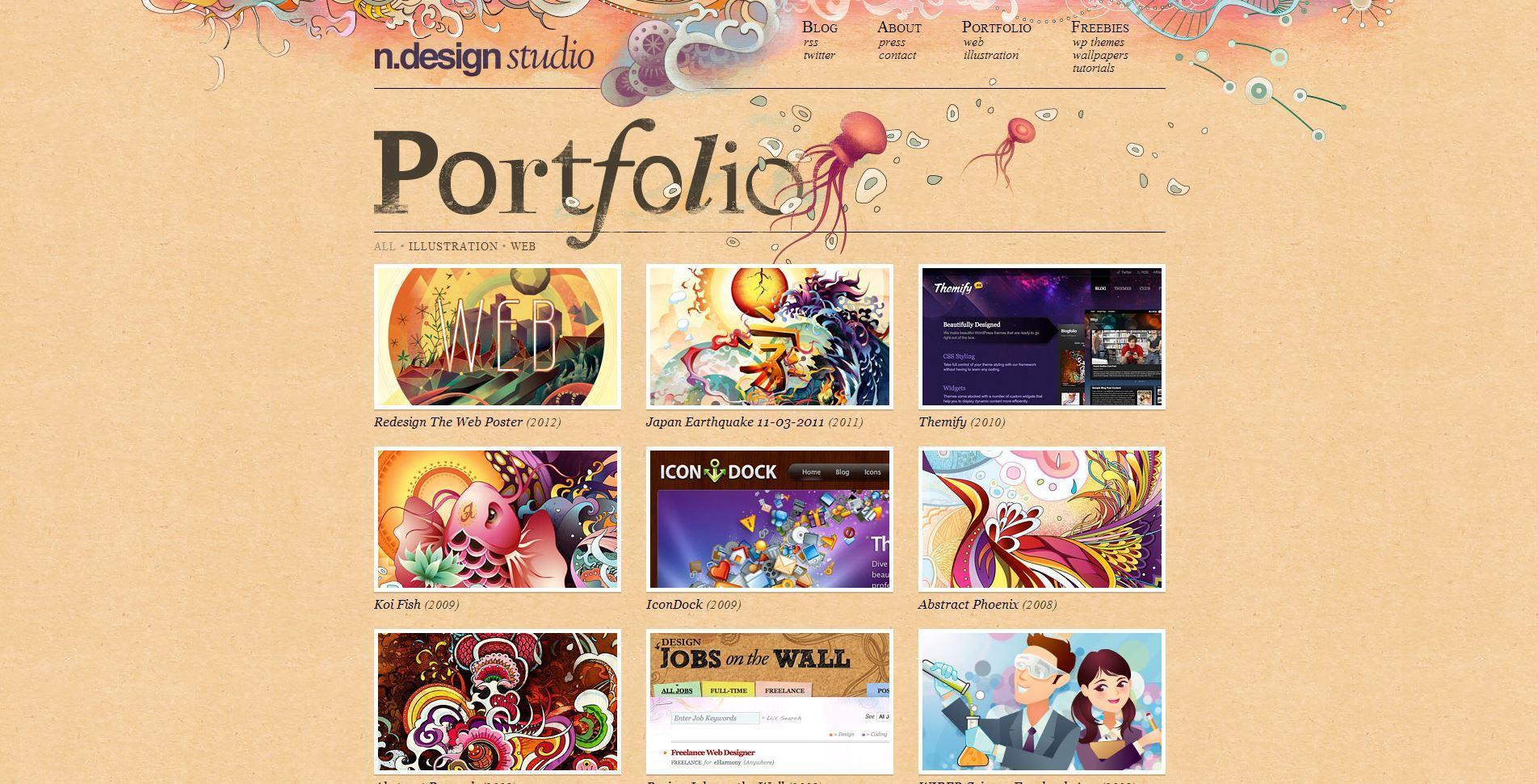 哪个网站:你见过的最漂亮的网站主页是哪个?-U9SEO