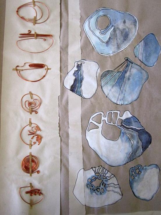 珠宝设计,艺术作品集辅导