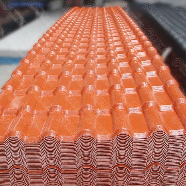 树脂瓦做房顶能用几年(树脂瓦多少钱一平方)