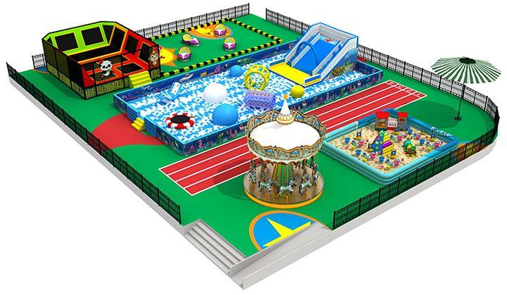 铜川儿童乐园加盟怎么样? 加盟资讯 游乐设备第2张