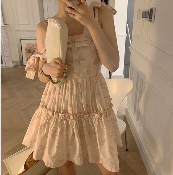 超仙甜美连衣裙买家秀,每一张都是神仙颜值4