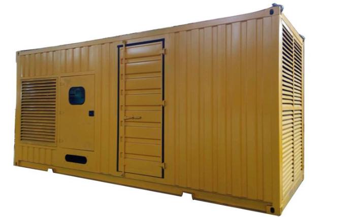 上柴发电机组集装箱发电机图片