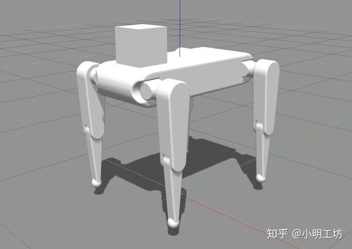 【ROS-Gazebo】pigot开源四足机器人项目改进(2)插图