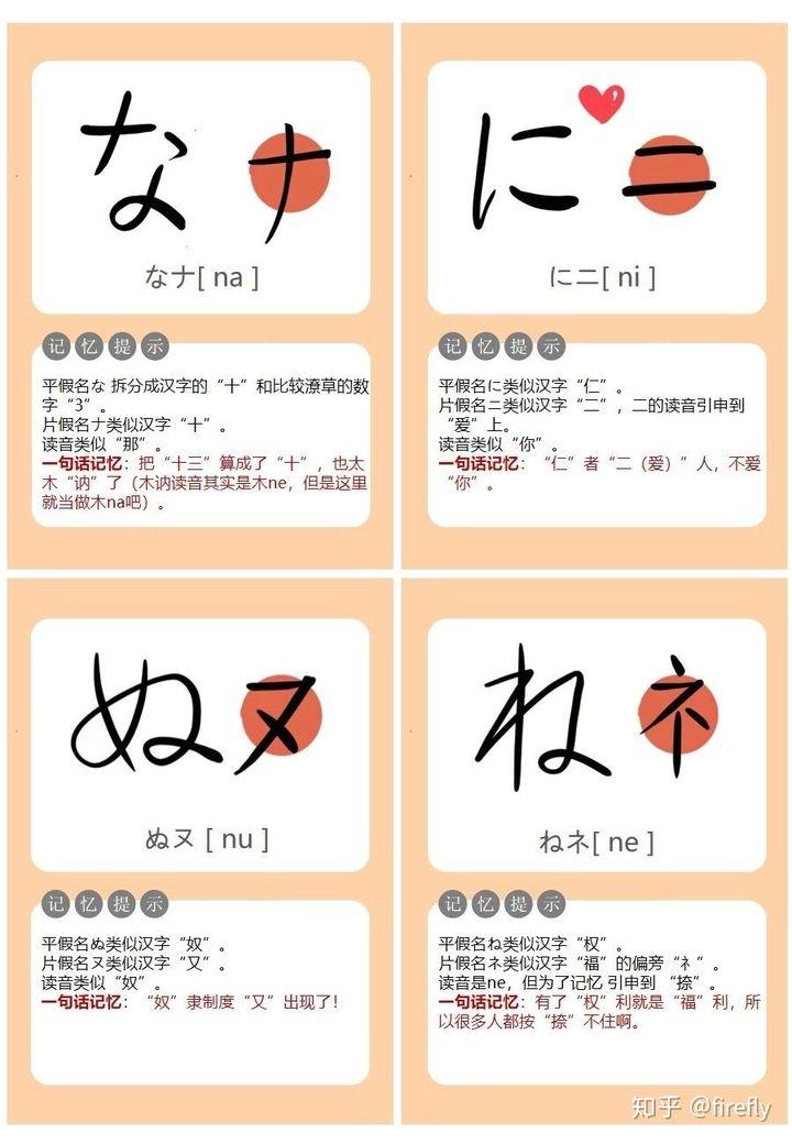 怎么记住五十音图的?详细的日语五十音图学习教程插图(16)