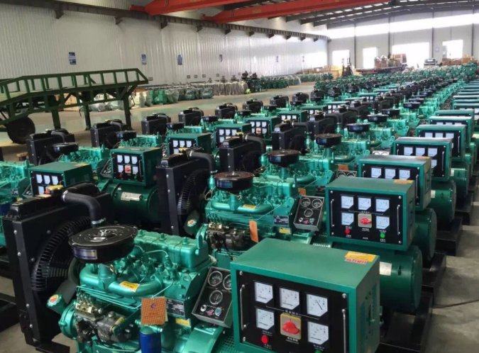 潍柴发电机图片-山东潍柴厂家产品存货现场图片