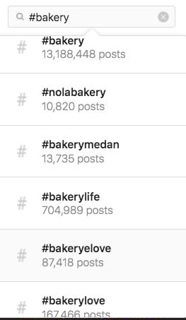 Instagram标签