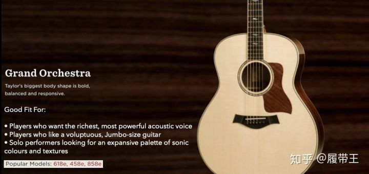 Taylor Guitar Body Shapes 知乎