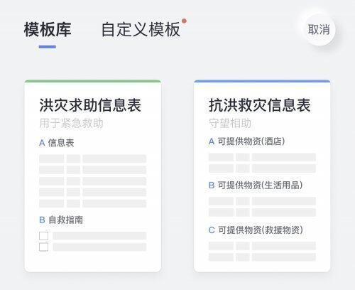 网易有道云笔记:河南暴雨抗洪专属模板上线,开启协同互助信息通道