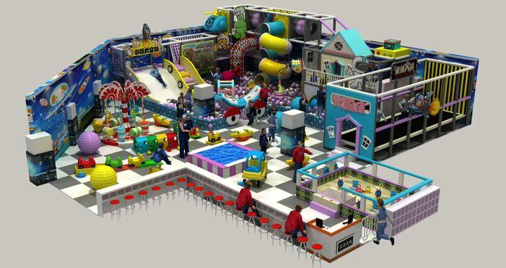 适合大型儿童乐园的游乐设备有哪些? 加盟资讯 游乐设备第1张