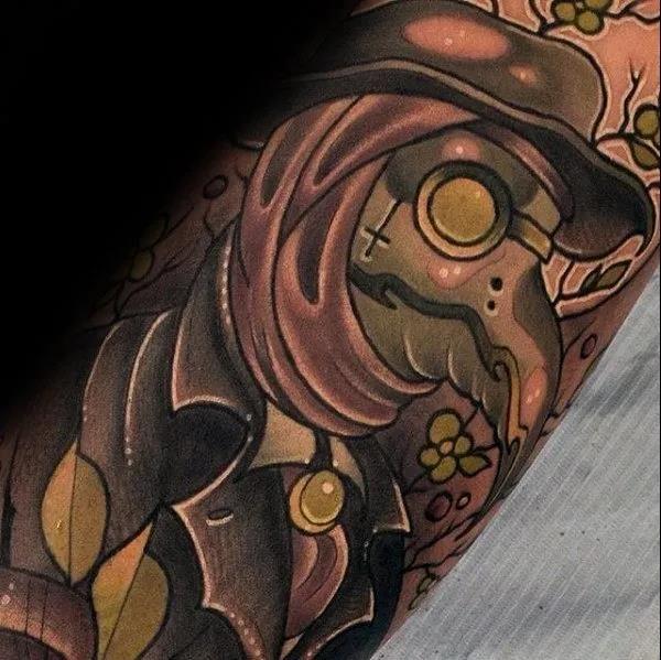 Top 30 Plague Doctor Tattoos