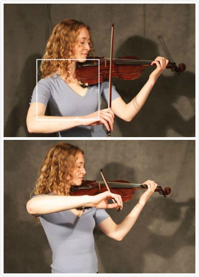 小提琴初学者经常蹭弦,怎么办?