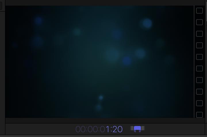 《Final Cut Pro 设置图片或图片背景时间长度》