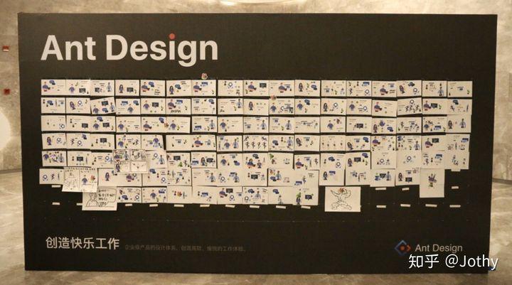 参会者们用 Ant Design 资产设计的网页