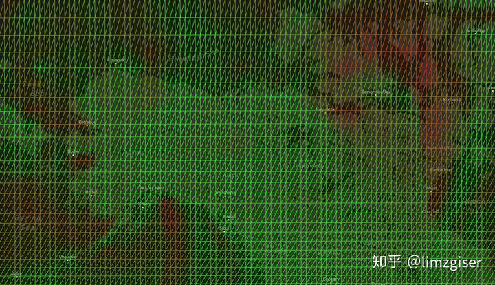 mapbox风力数据自定义图层绘制可视化