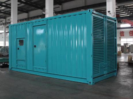 沃尔沃发电机集装箱图片