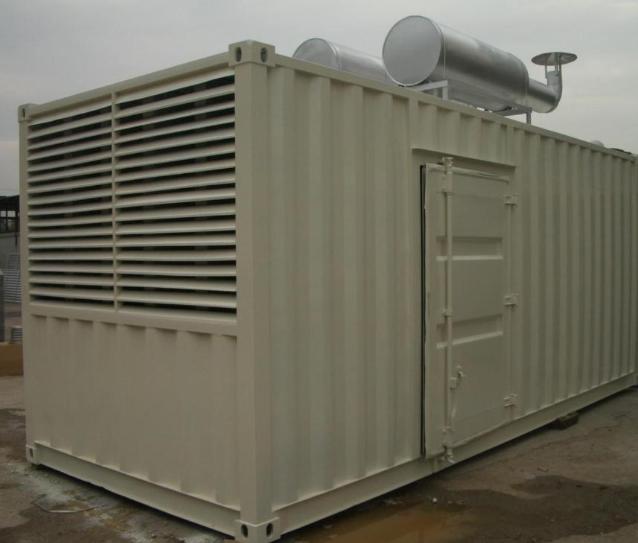 集装箱发电机图片