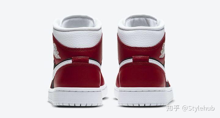 莆田鞋运动鞋休闲鞋,Air Jordan 1 Mid新配色官图释出!又一款红白「小芝加哥」!