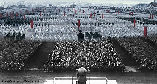 """《星球大战》中的纳粹元素和""""意志胜利"""""""