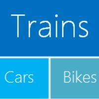 Trains · Cars · Bikes