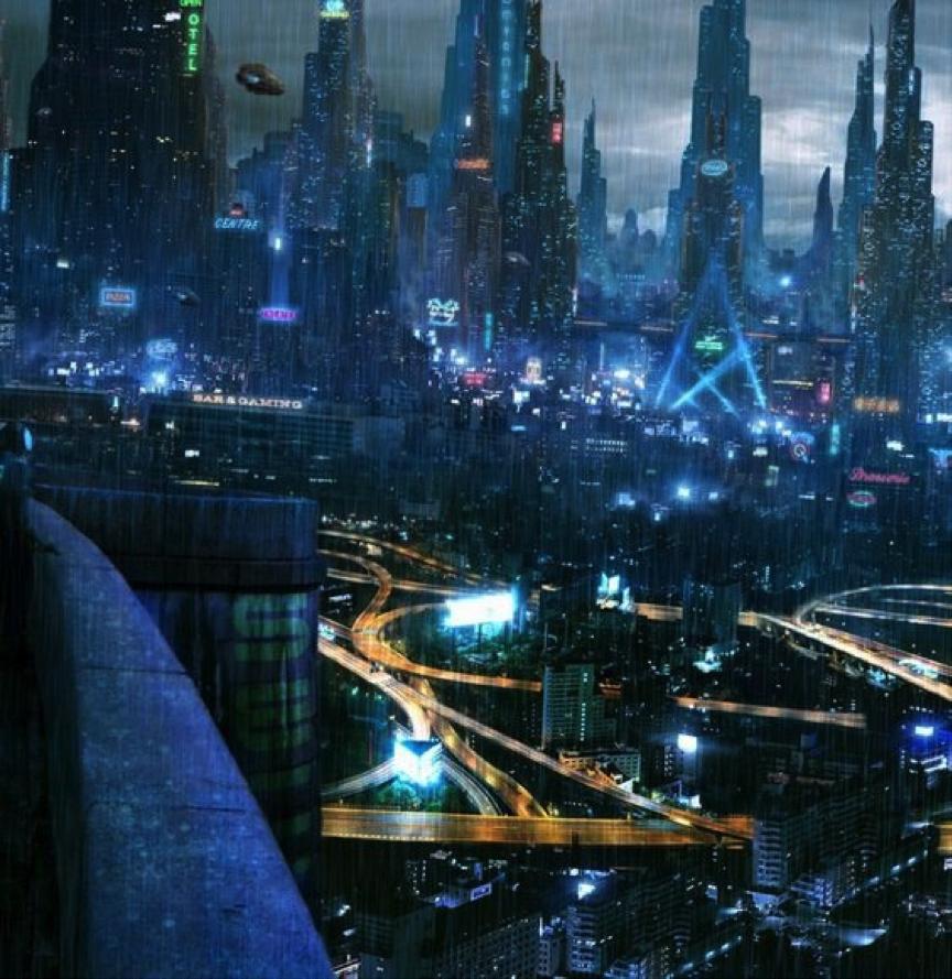 科幻小说_四个亚洲最具赛博朋克气质的城市,上海重庆上榜 - 知乎
