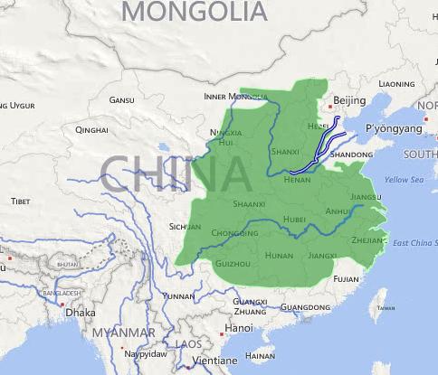 南越国疆域图_想研究历史地理,如何更好的应用谷歌地球等地图软件? - 知乎