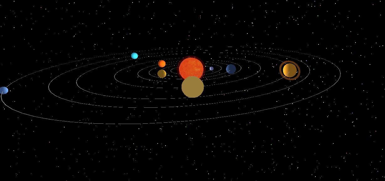 ThreeJS 轻松实现主视觉太阳系漫游