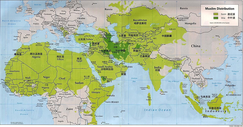 中东地图_【地图看世界】ISIS与中东伊斯兰地理 - 知乎