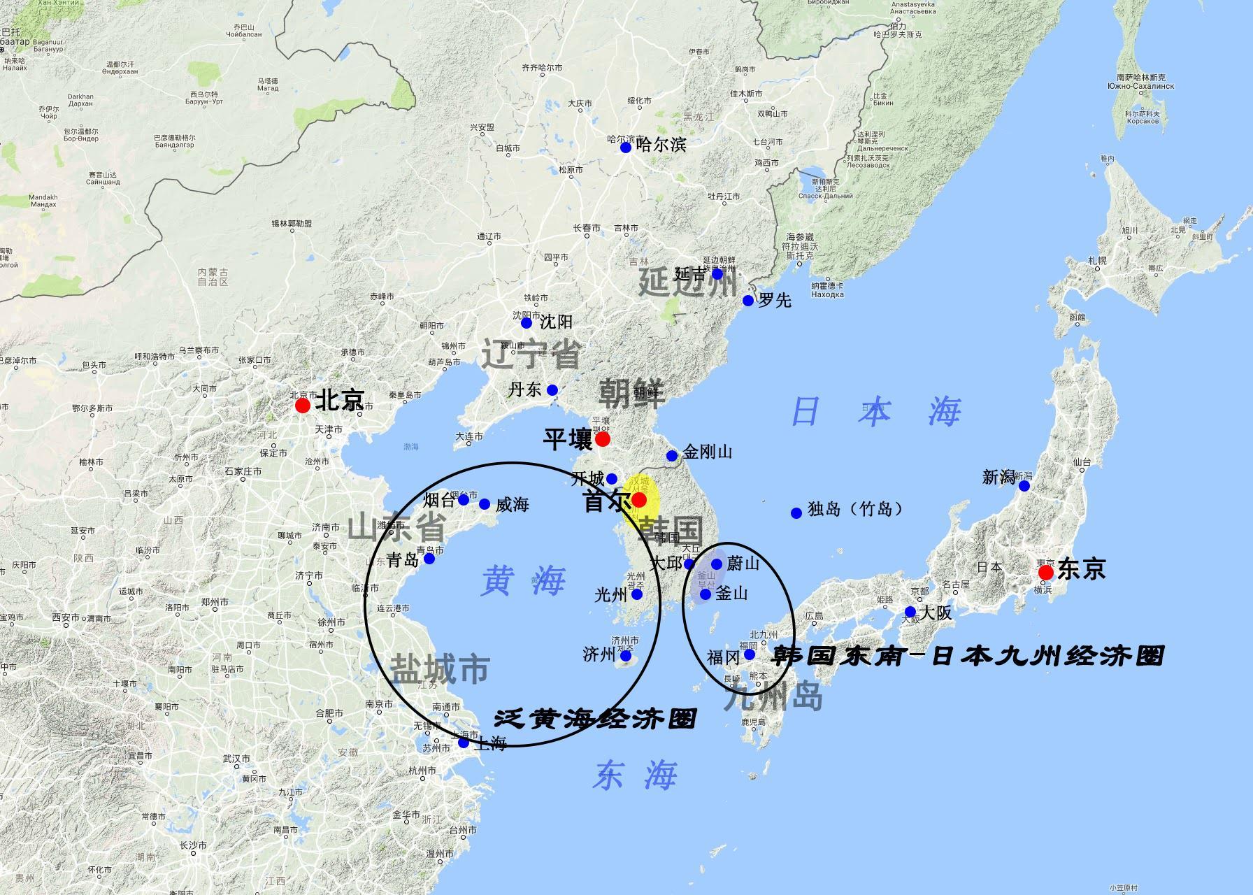 中国与日本经济关系_【地图看世界】韩国:顽强游走于大国之间的国家 - 知乎