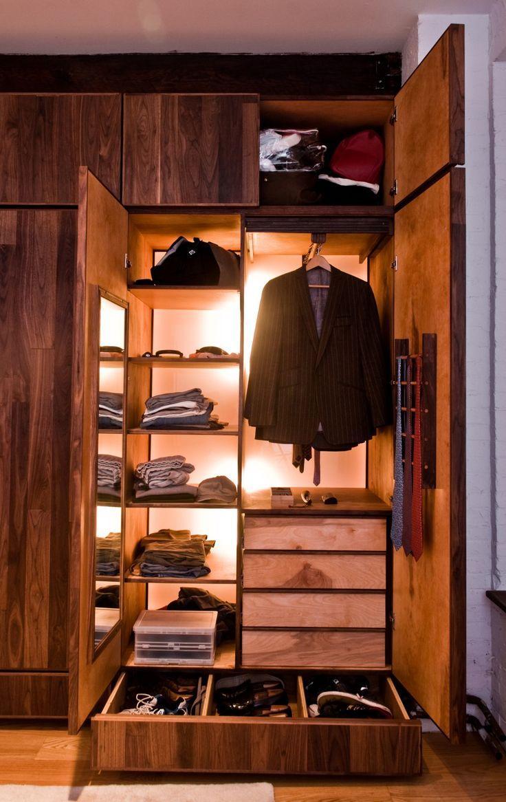 整洁、方便、容量大,关于衣柜你们最关心的大抵就是这三点