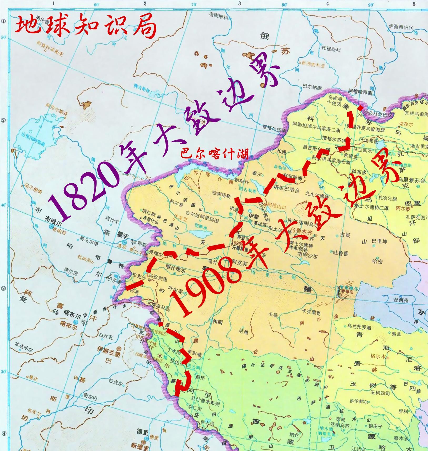 海参威_中国西域的扩张极限在哪里? 地球知识局 - 知乎