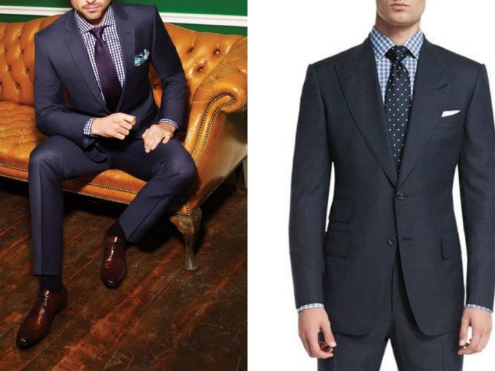 藏青色的西藏配什么领带_深蓝西装—男人的第二套战袍 - 知乎