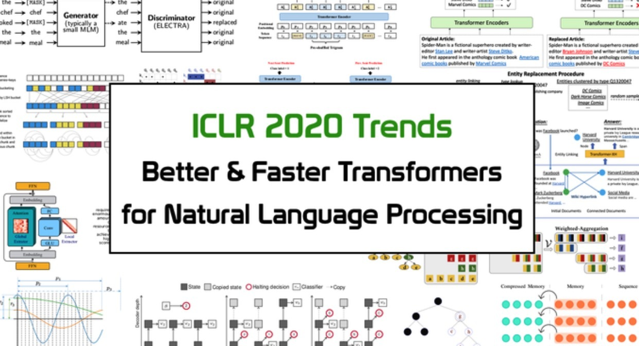 《ICLR 2020趋势分析:NLP中更好&更快的Transformer》