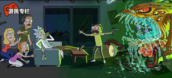 《瑞克和莫蒂》:我酗酒、我变态 但我是个好外公