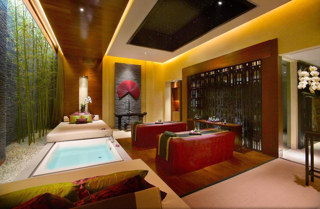 天堂般体验:澳门悦榕庄酒店,床边的温泉水疗spa!