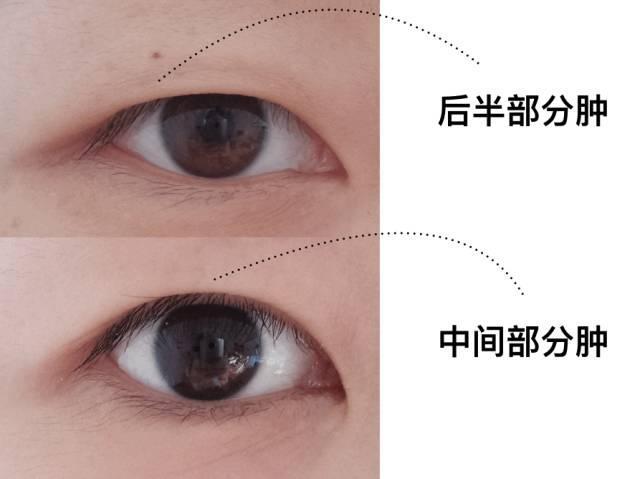 内双肿眼皮眼妆_内双又肿眼泡?如何画眼妆,能正确放大双眼不脏妆?| 女神进化 ...