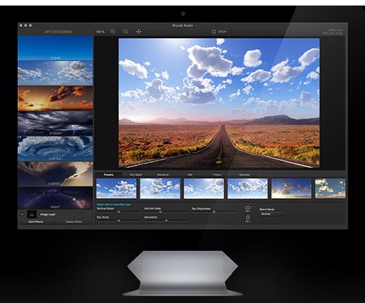 【S474】一键换天空PS面板SkyLab Studio 2.4 MAC中文版带中文使用视频教程