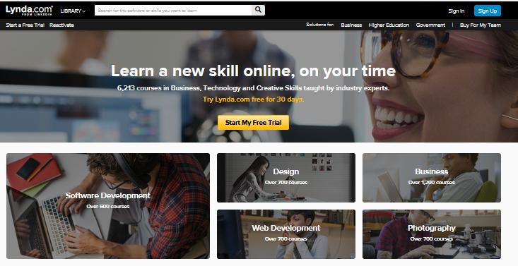 """亲身使用体验,白领的""""职业技校""""——Lynda.com"""