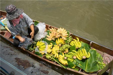 【泰国/水上市场】Wat Don Wai 水上市场