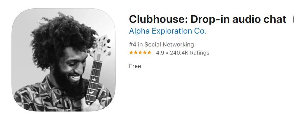 有名人 clubhouse
