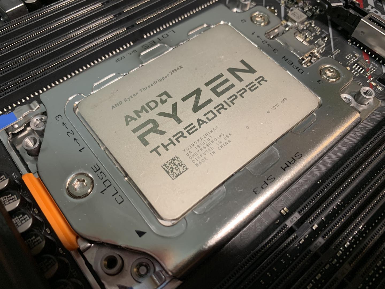 "AMD线程撕裂者2990WX之""数框框之旅"""