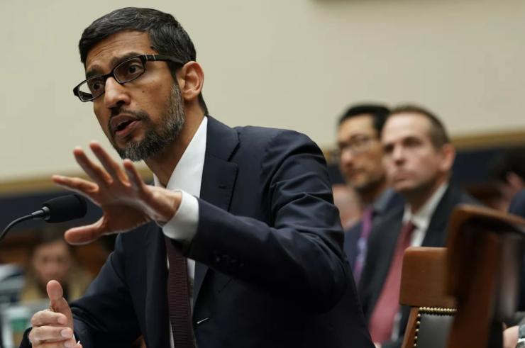 """谷歌CEO Pichai 被""""炙烤""""的3.5小时"""