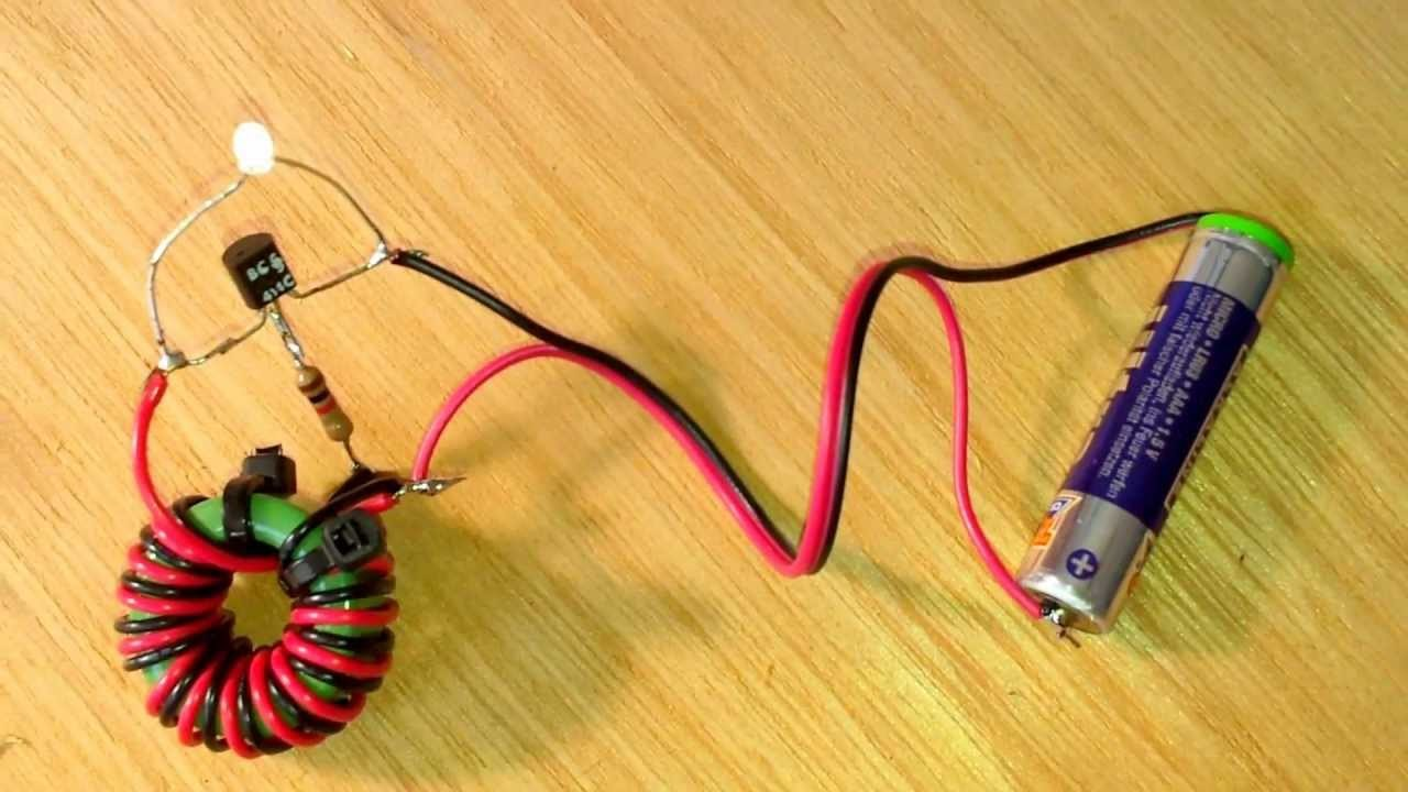 经典电路——焦耳小偷(Joule Thief),一个神奇的振荡升压电路